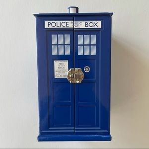 Doctor Who TARDIS Paperboard Jewelry Box
